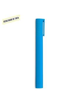 Resaltador Marcador Jumbo Plastico de Tinta - Azul-resaltador Azul