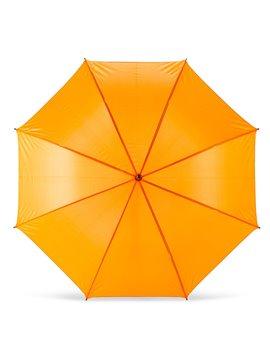 Mini Sombrilla Paraguas Kenny 21 Apertura Automatica - Naranja