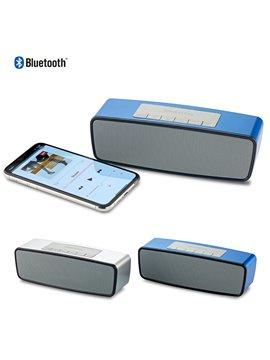 Parlante Speaker Bluetooth Soundmaster Ii - Plateado
