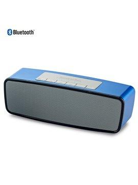Parlante Speaker Bluetooth Soundmaster Ii - Azul