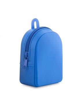 Monedero En Silicona Backpack Flexible - Azul
