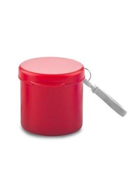 Capa Poncho Cylinder Plastico Con Carabinero - Rojo