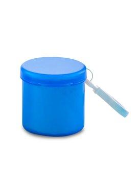 Capa Poncho Cylinder Plastico Con Carabinero - Azul