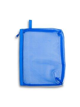 Cartuchera Cosmetiquera Star Poliester Y PVC - Azul Royal