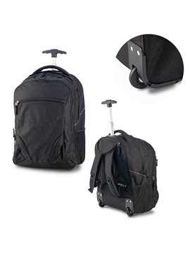Bolso Maleta Trolley Backpack Senior Poliester - Negro