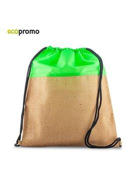Bolsa Tula Sporty Bag En Yute Y Poliester - Verde