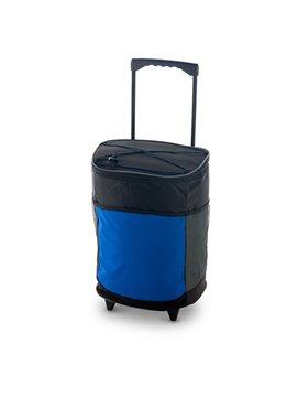 Bolso Maleta Trolley Cooler Bag Klusten Con Ruedas - Azul Royal