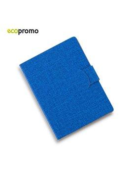Sticky Notes Adhesivos Set Clapton Cubierta En Tela - Azul