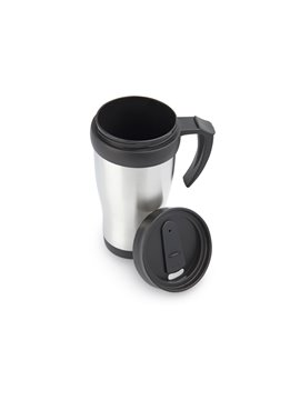 Mug Pocillo Viajero Body 450 Ml / 16 Oz - Plateado