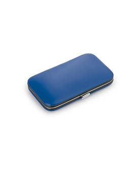 Set Estuche Manicure Pull 7 Acccesorios Cierre a Presion - Azul