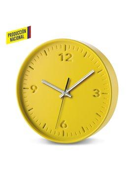 Reloj De Pared Tremont en Poliestireno Alto Impacto - Amarillo