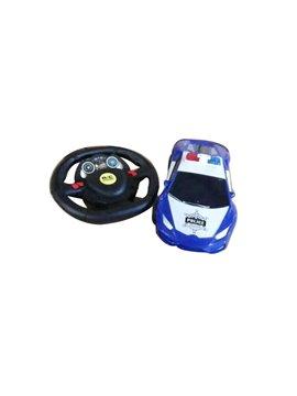 Carro vehiculo de Juguete Con Timon Plastico - Multicolor