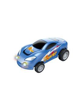 Carro vehiculo de Juguete Con esfera y Cargador Usb - Multicolor