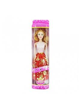Muñeca Princess Iris Fashion Moda En Plastico - Multicolor
