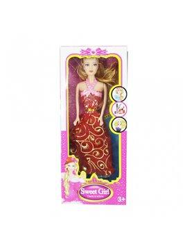 Muñeca Mili Fashion En Plastico - Multicolor