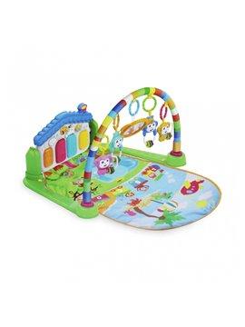 Gimnasio Para Bebes Con Sonido Sonajeros Plastico - Multicolor