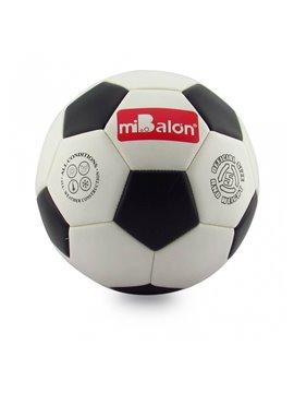 Bola Balon Pelota De Futbol Soccer 19 Cm - blanco\Negro