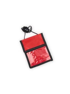 Portautil Hold Portadocumentos con cordon - Rojo