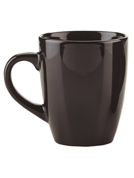 Pocillo Mug Conico Oxford En Ceramica 11 Oz - Negro