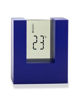 Reloj Digital de Mesa Digital Con 4 Funciones Pilas AAA - Azul