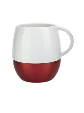Pocillo Taza Taure Elaborado en Porcelana con Caja de Regalo - Rojo