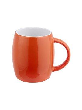Pocillo Mug Taza Ceramica Rimo 13 oz - Naranja
