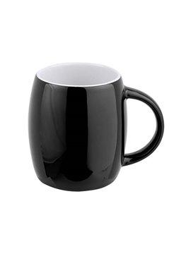 Pocillo Mug Taza Ceramica Rimo 13 oz - Negro