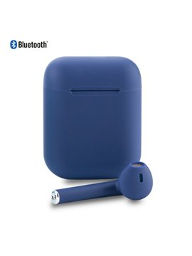 Audifonos Manos libres de Bluetooth Air i 12 - Azul Oscuro