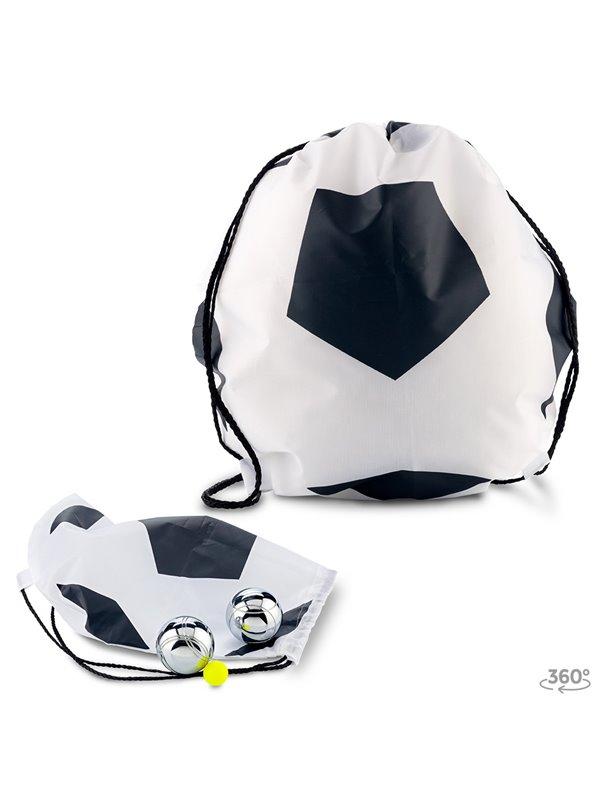 Bolsa Tula Mochila Sporty Bag Naiper En Poliester - Blanco-negro