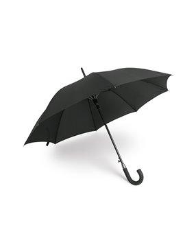 Paraguas Sombrilla 23 Pulgadas Cheiro Mango Curvo - Negro