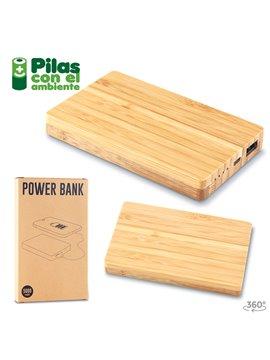 Bateria Recargable En Bamboo Nipax 5000 mah - Madera