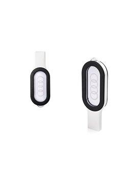 Memoria USB Con Ventana Acrilica Nascar - Negro
