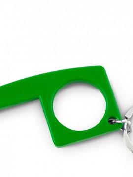 Llavero Plastico Multiusos Anticontacto Resistente - Verde