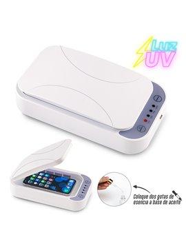 Esterilizador de Aroma Con Luz UV Smart - Blanco