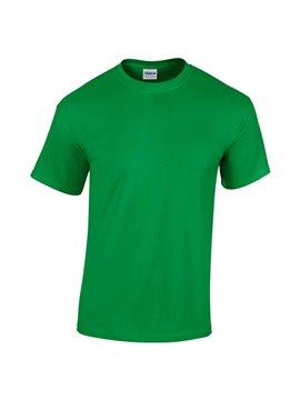Gildan Camiseta Talla S T Shirt Adulto Cuello Redondo - Verde Irlandes
