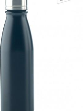 Botella Botilito Metalico Hans en Aluminio 600 ml - Negro