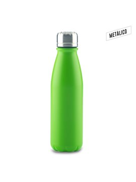 Botella Botilito Metalico Hans en Aluminio 600 ml - Verde