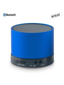 Parlante Altavoz Metalico Speaker Bluetooth Artix - Azul