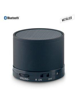 Parlante Altavoz Metalico Speaker Bluetooth Artix - Negro
