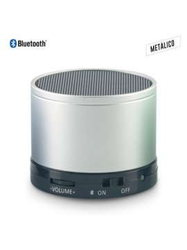 Parlante Altavoz Metalico Speaker Bluetooth Artix - Silver