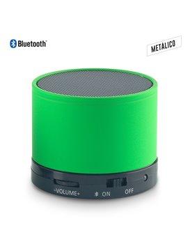 Parlante Altavoz Metalico Speaker Bluetooth Artix - Verde