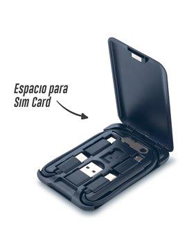 Set de Cables de Carga Mini Kit Multifuncional   nuevo 9436  Ampliar *Colores de referencia, se recomienda solicitar muest