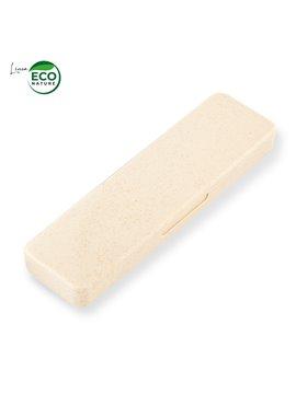 Set De 3 Cubiertos Ecologico Deli en Plastico - Natural (fibra De Trigo)