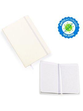 Libreta Igor con Material Antibacteriano - Blanco
