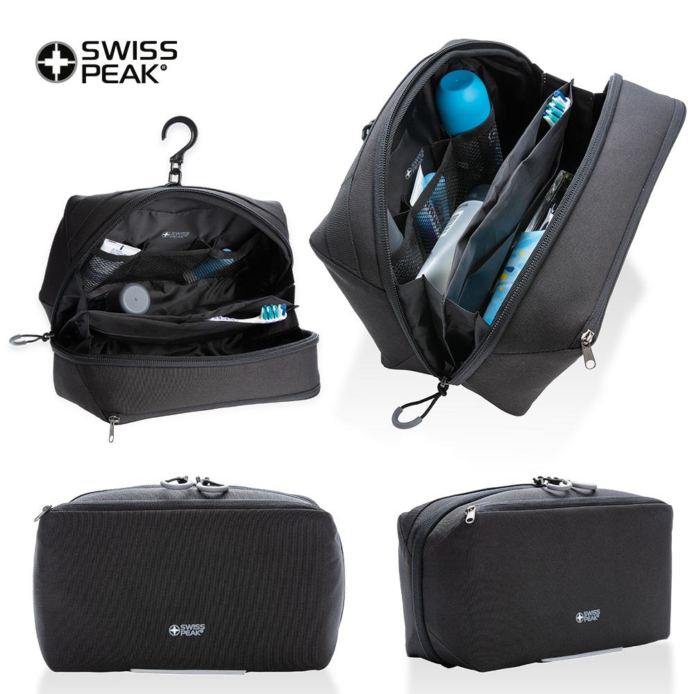Bolso Maleta Organizador De Viaje Swisspeak Kool - Negro