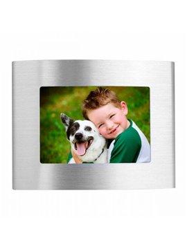 Porta retrato Mini Capri Elaborado en Aluminio - Plata