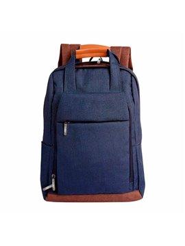 Maleta Mochila Masai para Laptop en Poliester - Azul