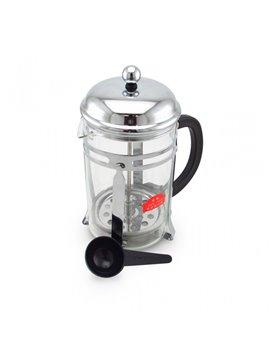 Colador de Cafe Filtro Acero Inoxidable Capacidad 850 Ml - Plateado