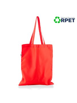 Bolsa Morral Ecologica Sencilla Recycled Rpet - Rojo