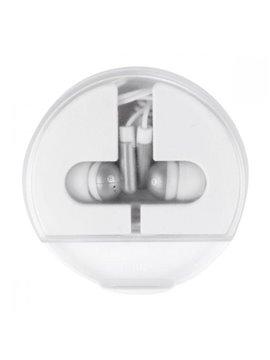 Audifonos Auricular Zuk Enrollables en Plastico - Plata